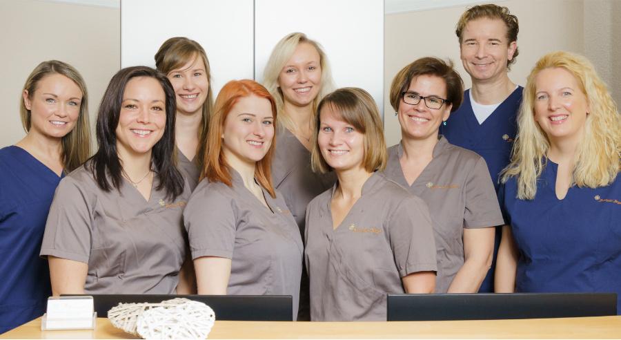 Team der Zahnärzte Zeisig aus Rommerskirchen